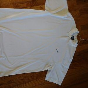 Nike gold polo
